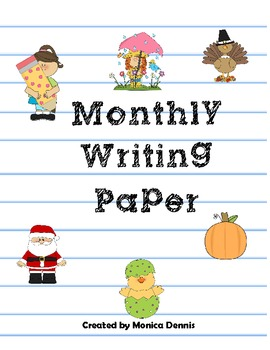 Year of Writing Paper