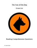 Year of the Dog Reading Comprehension Questions and Book Test