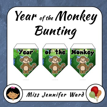 Year of the Monkey Bunting