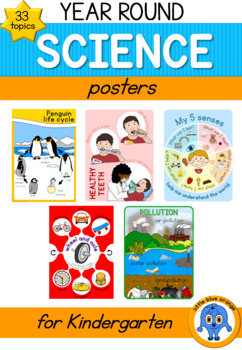 Year round science - poster  bundle