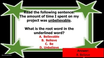 Year's Worth - Reading Review - Word Analysis & Reference Materials - Unit 3