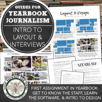 Yearbook 101 First Assignment: Get to Know the Staff + Layout and Design