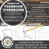 Yearbook 101: Organization Tips, Story Ideas, Data Collection