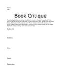 Yearbook Book Critique