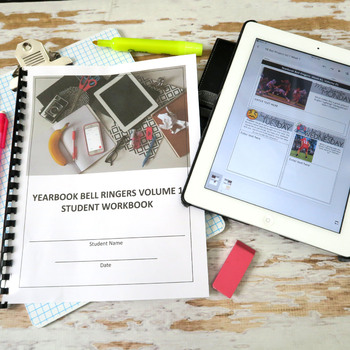 Yearbook Class Bell Ringer BUNDLE, Class Starter Activities, 200 Days Full Year