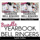 Yearbook Class Bell Ringer BUNDLE, Class Starter Activitie