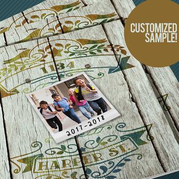 Yearbook Cover Design Memory Lane 2018