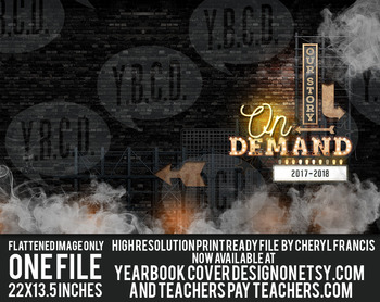 Yearbook Cover Design On Demand 2018