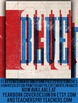Yearbook Cover Design school colors Red & Blue 2017