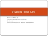 Student Press Law Power Point