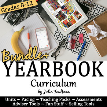 Journalism Yearbook Curriculum, BUNDLE