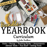 Journalism Yearbook Curriculum, BUNDLE for Student Publications