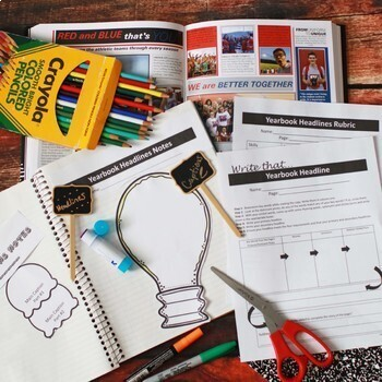 Journalism Yearbook Curriculum, BUNDLE+ for Student Publications