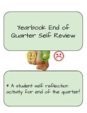 Yearbook End of Quarter Self Review