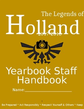 Yearbook Handbook