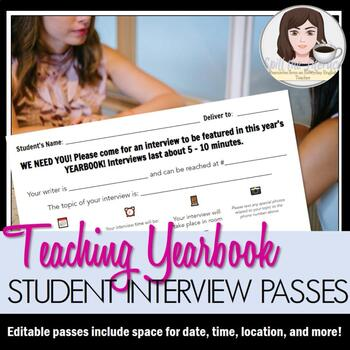 Yearbook Interview Passes for Students