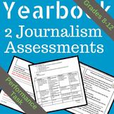 Yearbook Journalism Tests (Performance Task)