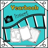 End of Year-Yearbook Insert for Teens