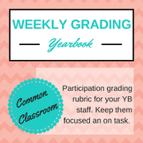 Yearbook Participation Grading, Editable