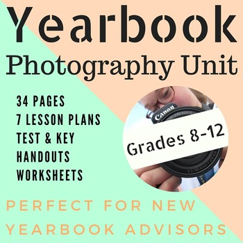Yearbook Photography Unit