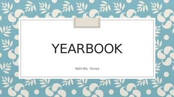 Yearbook Positions & Tips
