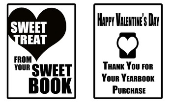 Yearbook Promotion (Valentine's Day Sweet Treats)
