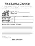 Yearbook Proof Checklist