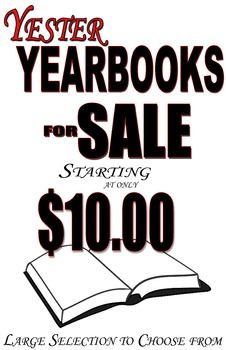 Yearbook Sign (Yester Yearbooks)