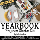 Yearbook Starter Kit for Advisers: Application, Contracts, Forms, Memos & More