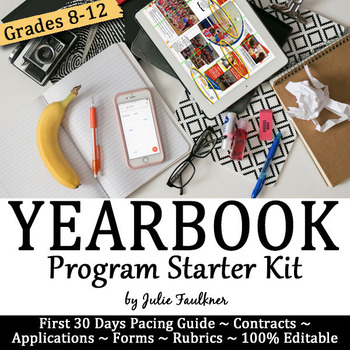 ournalism Yearbook Starter Kit for Advisers