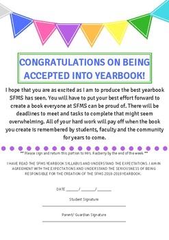 Yearbook Syllabus