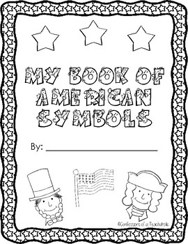 Yearlong American Symbol Fill in the Blank Booklet