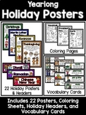 Yearlong Holiday Poster Set