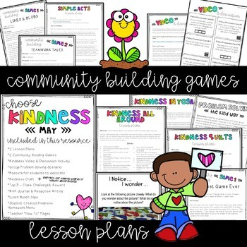 Kindness Activities & Lessons for the Year Bundle
