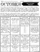 Math Homework Yearlong Bundle, NO PREP
