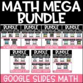 Yearlong Math GROWING Bundle | Google Slides