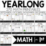 Yearlong Mega Bundle MATH Common Core Crunch