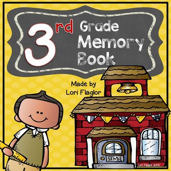 Yearlong Memory Book- 3rd Grade Edition
