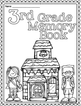 Yearlong Memory Book- 3rd Grade Edition