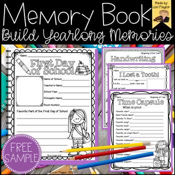 Yearlong Memory Book- FREE Sample