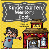 Yearlong Memory Book- Kindergarten Edition