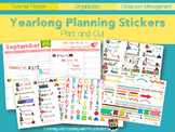 Yearlong Planning Stickers