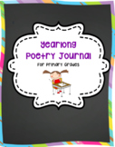 Yearlong Poetry Journal Bundle for Primary Grades