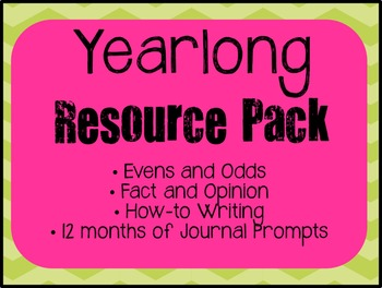 Yearlong Resource Pack: BUNDLES