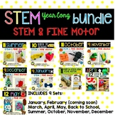 Yearlong STEM and FINE MOTOR Centers