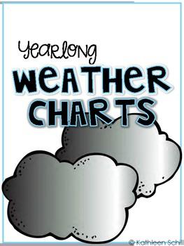 Yearlong Weather Charts FREEBIE
