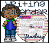 Yearlong Writing Calendar