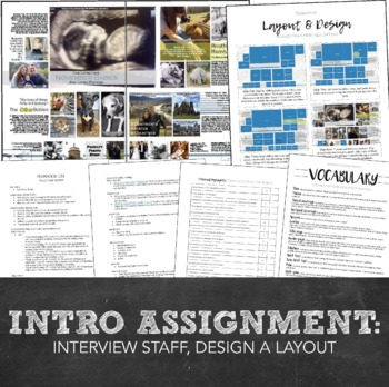 Yearbook Bundle Pack for a Full Year: Syllabus, Contracts, Timeline, Planning