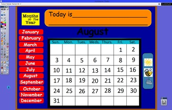 Yearly Calendar Morning Routine 2015-2016