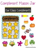 Yearly Compliments Mason Jar {Class Incentive}